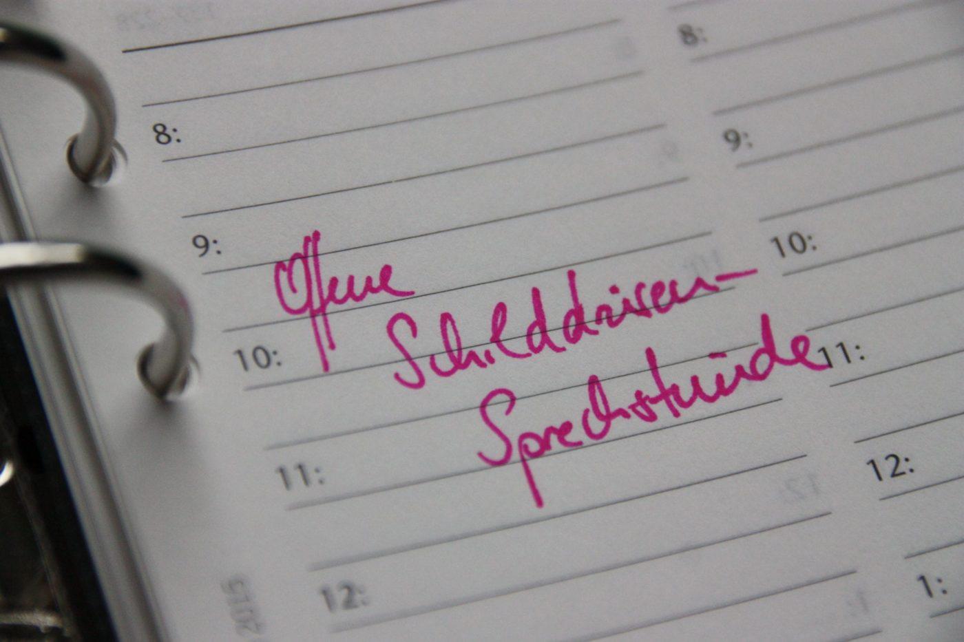Kalender Eintrag Offene Schilddrüsen-Sprechstunde